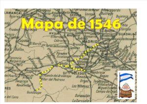 Mapa Camino Real